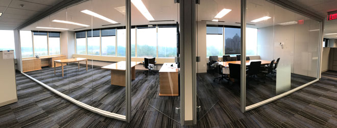 glass office panorama