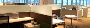 modern office space panoramic